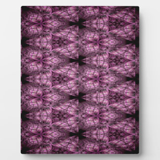 Frosted Gamma Pattern Plaque