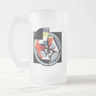 Frosted Glass - 16oz - TMoM 1 Frosted Glass Beer Mug