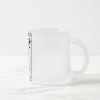 Frosted glass mug - Piedmont Highland Dance