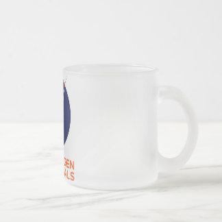 Frosted Glass Mug With Copenhagen Suborbitals Logo