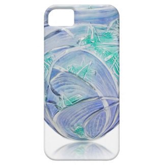 Frosted green Art Deco vase with grasshoppers. iPhone 5 Cases