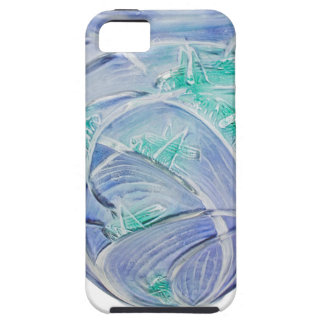 Frosted green Art Deco vase with grasshoppers. iPhone 5 Covers