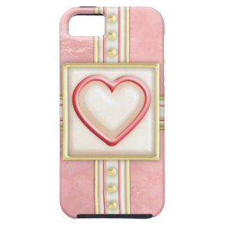 Frosted Heart iPhone 5 Case