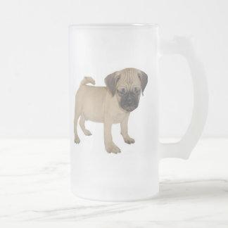 Frosted Mug with Baby Puggle