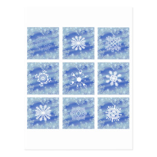 Frosted Panes I Postcard