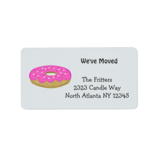 Frosted Pink Doughnut New Address