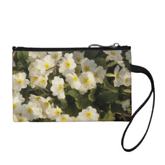 frosted primroses coin wallet