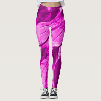 Frosted Purple Angelic Dreams Airbrush Leggings