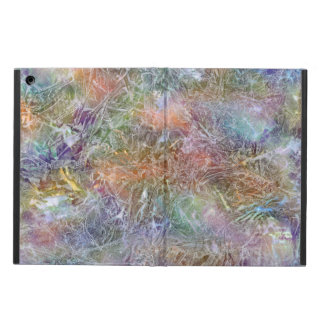 Frosted Rainbow Abstract Art iPad Air Case