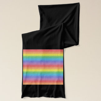 Frosted Rainbow Scarf