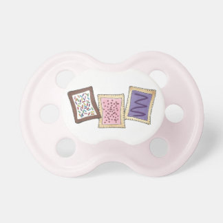 Frosted Toaster Pastry Breakfast Junk Food Foodie Pacifier