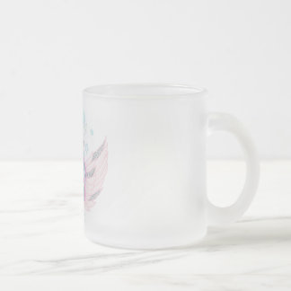 Frosted Unicorn Faux Glitter Mug