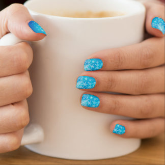 Frosted Window Pane Nail Art