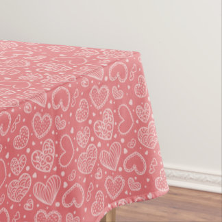 Frosting Hears Tablecloth