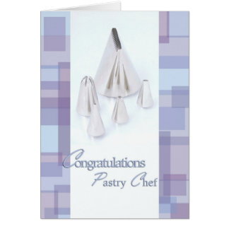 Frosting Tips - Congratulations Pastry Chef Grad Card