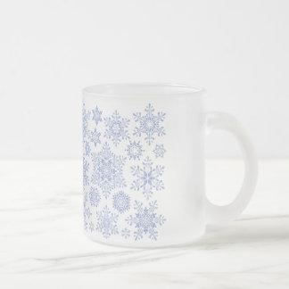 Frosty 10 Oz Frosted Glass Coffee Mug