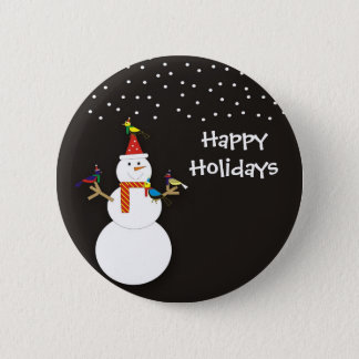 Frosty and Friends Button