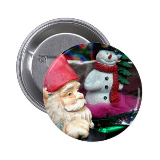 Frosty and Gerome 2 Inch Round Button