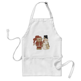 Frosty and Santa Standard Apron
