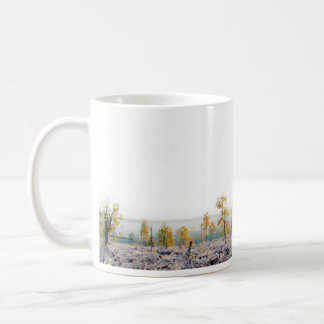 Frosty Autumn Basic White Mug