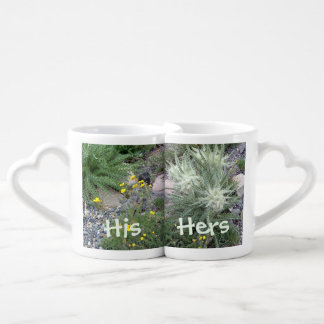 Frosty Ball Alpine Wildflowers Couples Mug