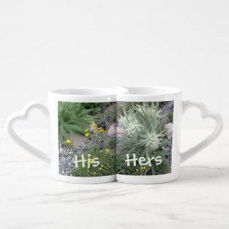 Frosty Ball Alpine Wildflowers Lovers Mug Set