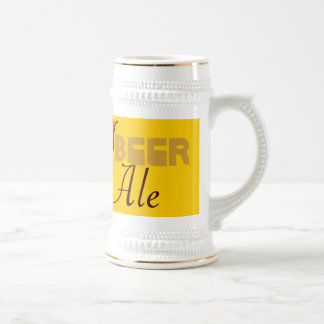Frosty, Beer, Brewski, Ale, Lager stein 18 Oz Beer Stein