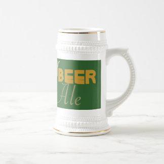 Frosty, Beer, Brewski, Ale, Lager  Stein/Mug 18 Oz Beer Stein