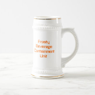 Frosty Beverage Containment Unit stein