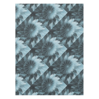 Frosty Blue Burst Tablecloth