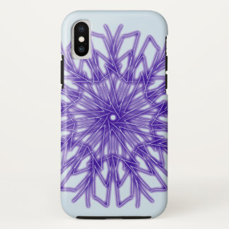 Frosty Blue Holiday Snowflake ~ Case-Mate iPhone Case