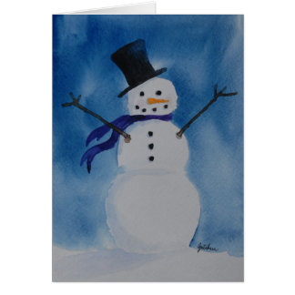 """Frosty"" Card"
