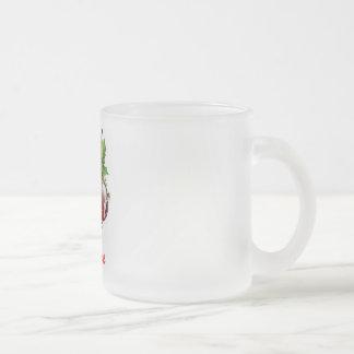 Frosty Christmas mug