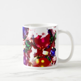 Frosty Christmas Ornaments Classic White Coffee Mug