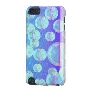 Frosty Clarity –- Azure Beauty & Indigo Depth iPod Touch 5G Covers