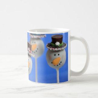 Frosty Classic White Coffee Mug