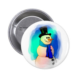 Frosty Dreams 2 Inch Round Button