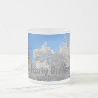 Frosty Dreams Icy Trees Mug