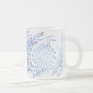 Frosty Flakes Frosted Glass Coffee Mug