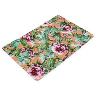 Frosty Florals V2 Floor Mat