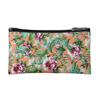Frosty Florals V2 Makeup Bag