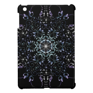 Frosty flowers cover for the iPad mini