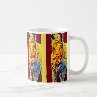 Frosty Horse Mug