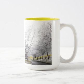Frosty journey Two-Tone mug