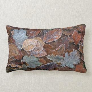 Frosty leaves pillow/cushion lumbar pillow