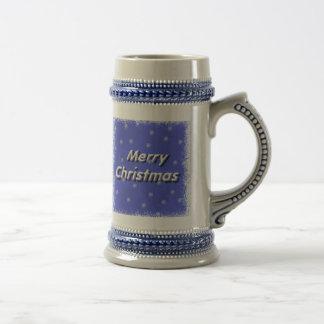 Frosty Merry Christmas Stein 18 Oz Beer Stein