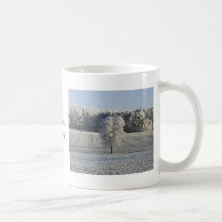 Frosty Morning in Germany Basic White Mug