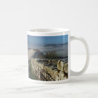 Frosty Morning on Hadrian's Wall Coffee Mug