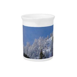 Frosty Mountain Pitcher