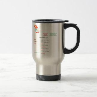 Frosty Resume Stainless Steel Travel Mug